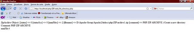 Характеристики объекта archive2.zip