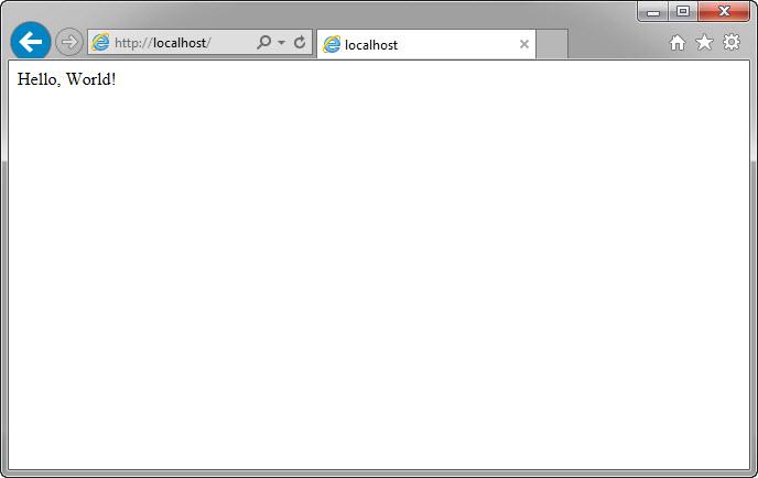 Установка PHP интерпретатора